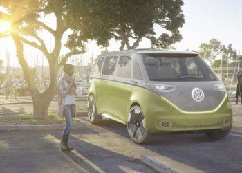 Her er Volkswagens bud på en fremtidig bus. 434 km rækkevidde og 369 elektriske hk.