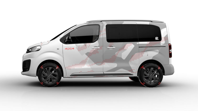 Citroën SpaceTourer 4X4 Ë Concept er Citroëns bud på en moderne SUV med masser af plads.