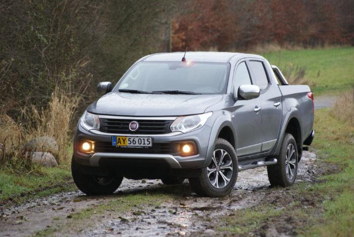 Fiat Fullback udgår som Mitsubishi-klon og genopstår som ægte amerikaner