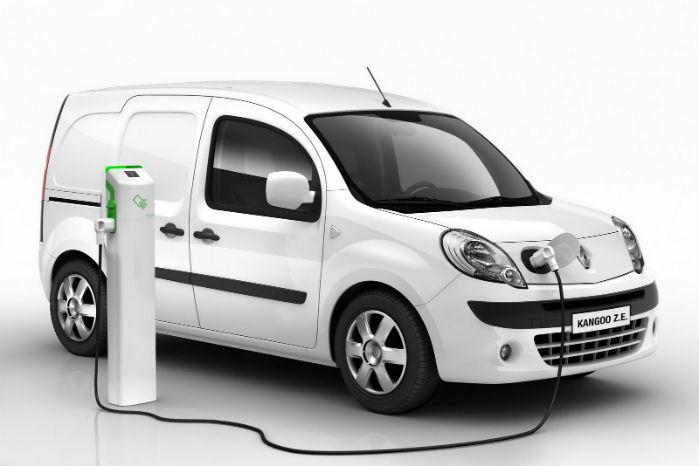 Til efteråret kommer en eldrevet Renault Kangoo med 33 kWh's batteri