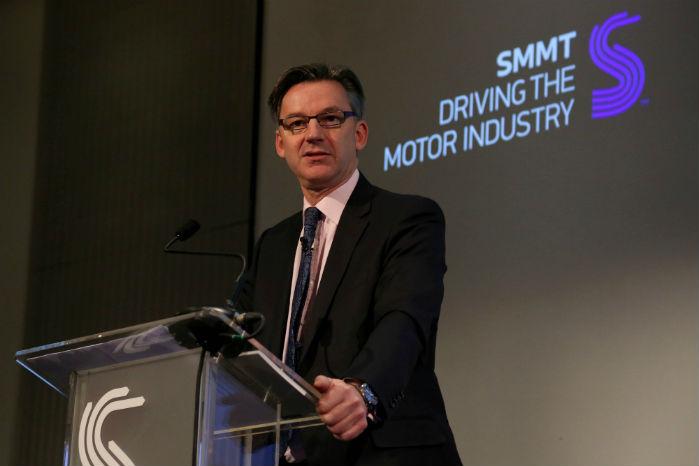 Mike Hawes, SMMT, påpeger nødvendigheden af den bedst mulige Brexit-løsning for bilindustrien