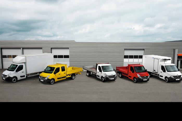 Varebiler op til 3,5 tons er sammen med de små busser vækstdrivere i det europæiske salg af kommercielle biler, viser tal fra ACEA