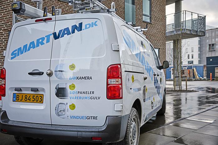 SmartVan har en omfattende varebils-portefølje, men det er tyverisikringen, der er størst efterspørgsel på