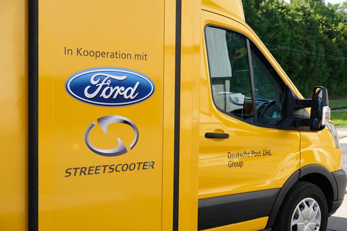 Ford har lagt Transit til og været med til udviklingen af Work XL i samarbejde med Deutsche Post-selskabet Streetscooter
