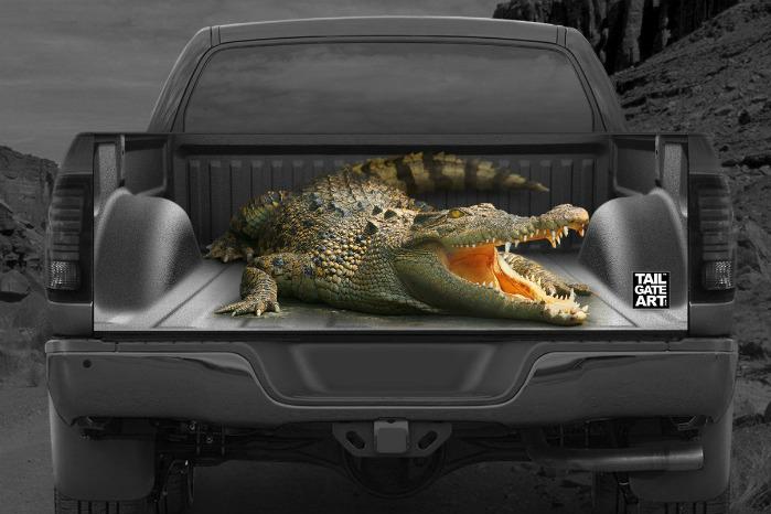 Med 3D-effekt og høj grafisk opløsning skulle effekten være ganske god. Foto: Tailgate Art