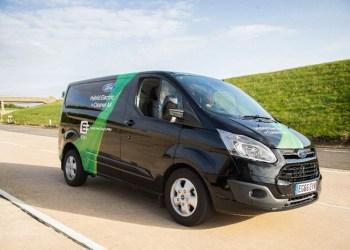 Ford lægger en 1.0 EcoBoost i hybridversionen af Transit Custom. Her duer diesel ikke