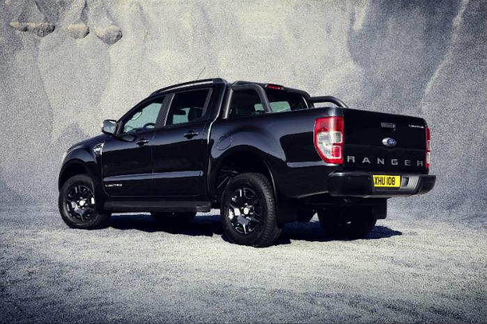 Der vil blive fremstillet i alt 2500 eksemplarer af Ford Ranger Black Edition. Ingen af dem kommer desværre til Danmark