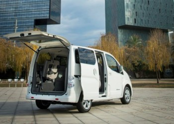 Nyttelast og lastvolumen er uændret i Nissan e-NV200 med nyt 40 kWh's batteri