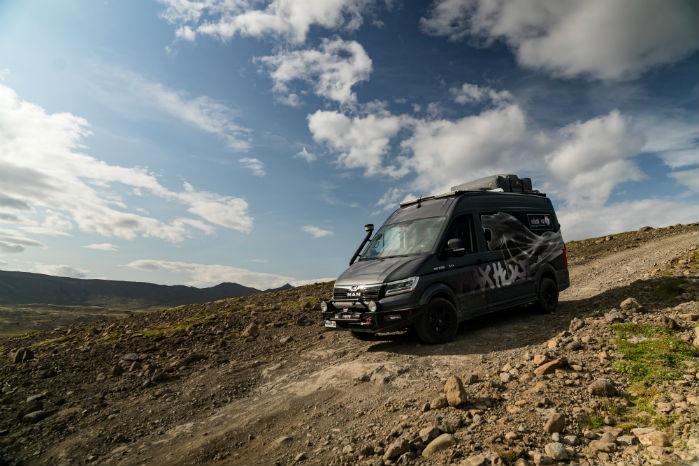 Med 4Motion og spær på bagakslen kunne TGE'en klare strabadserne på Island