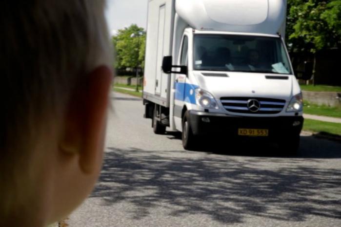 Engelsk undersøgelse dokumenterer, at varebilschauffører kører mere sikkert end førere af personbiler. Foto. Rådet for Større Trafiksikkerhed
