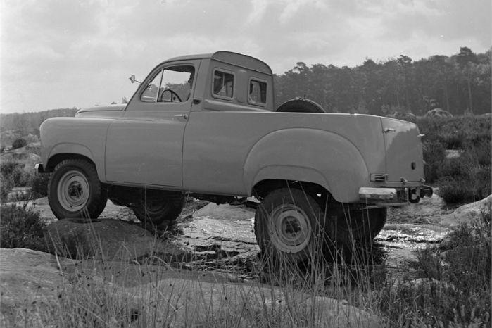 1952. Renault Colorale pick-up. Foto: Renault Communication