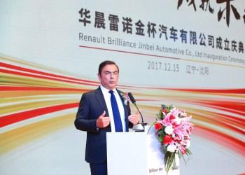 Øverste chef for Renault-dyastiet, Carlos Ghosn, har føjet endnu et kinesisk kapitel til porteføljen