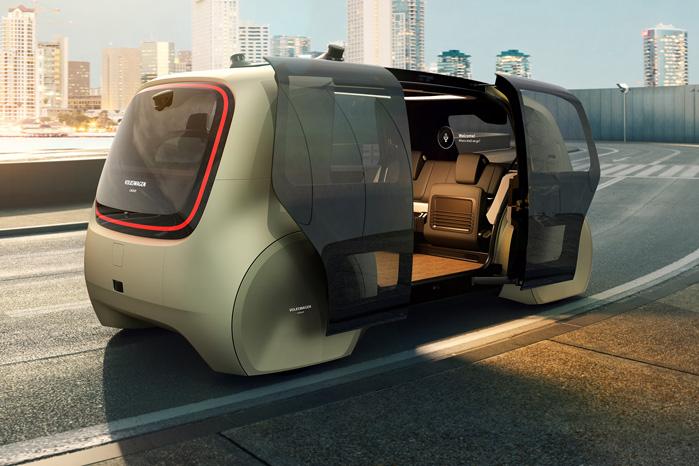 VW Sedric er et fremtidskoncept, men Aurora skal levere teknologien til at realisere det