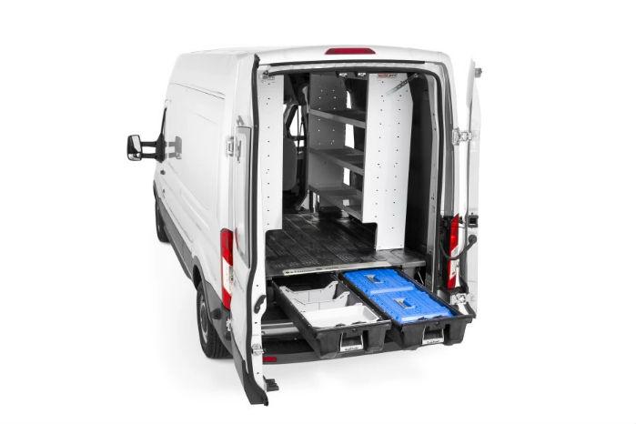 Skuffesystemet passer også til PSA's store kassevogne