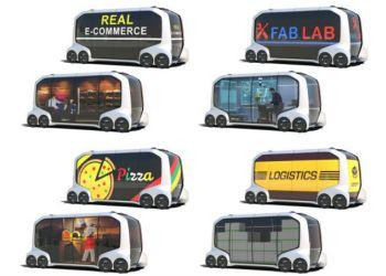 e-Palettes multimodale køretøjer indrettes til forskellige mobiltetsbehov