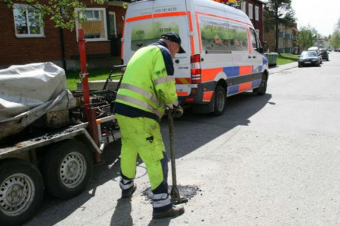 NCC's såkaldte Microhold består af hver to mand, der rykker ud for at reparere udsatte steder