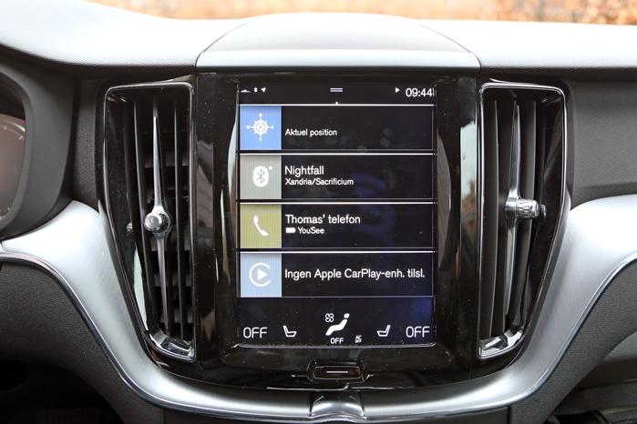 Volvo sparkede en dør ind, da de introducerede det tablet-lignende infotainment-display