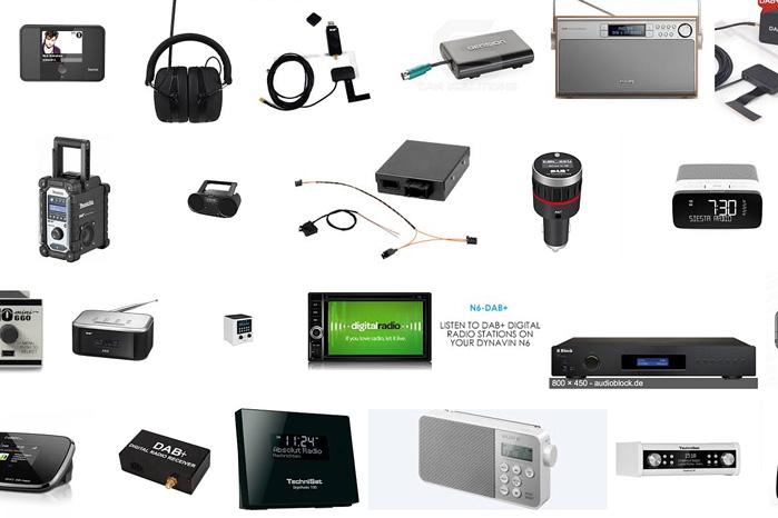 Alverdens små digitale dimser kan modtage DAB-radio, men biler kan sjældent