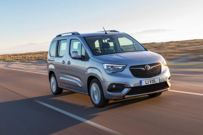 Vauxhall Combo Life hedder personvognsudgaven, der sammen med sine PSA-søstre fremstilles på Vigo-fabrikken i Spanien