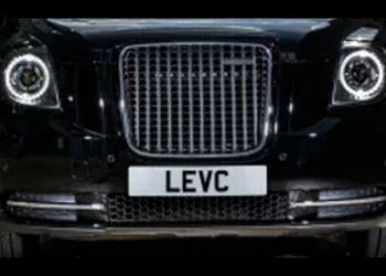 Taxa-udgaven fra London Electric Vehicle Company lægger krop til den nye varebil, der kaldes LCV