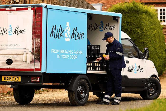 Med købet hos StreeScooter er en tredjedel af Milk & More's flåde nu elektrisk. Foto: Milk & More