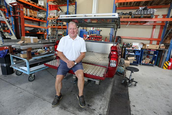 Still going strong: Jan Møller gik i lære som vognbygger som 14-årig og havde sidste år 60 års jubilæum