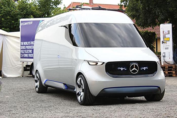 Mercedes er godt i gang med at føre visionerne fra Mercedes VisionVan ud i livet