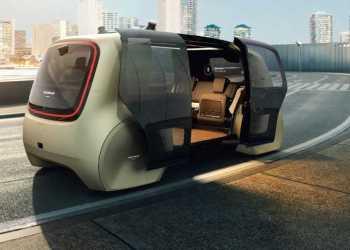 - Selvkørende biler kan blive gratis at køre i og komme til at fungere som både varebiler og personbiler. Foto: Volkswagen