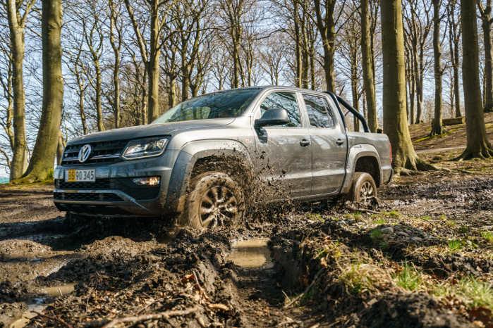 VW Amarok overbeviste testholdet på alle parametre