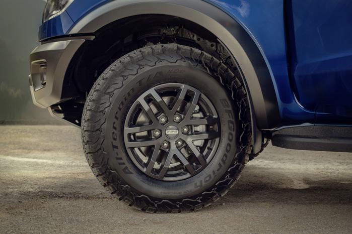 Høje dæksider viser, at Ford går egne veje og holder fast i rå offroad-egenskaber