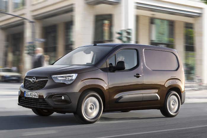 Opel Combo Cargo kommer til Danmark i januar med både diesel og benzin i programmet