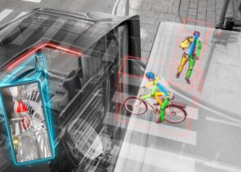 Ved hjælp af en kombination af radar og kameraer kan det nye system genkende og forudse bløde trafikanters bevægelser