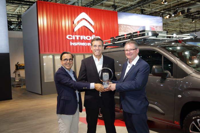 Citroën kunne i år modtage IVOTY-prisen for anden gang. Første gang var i 1997 med den første Berlingo