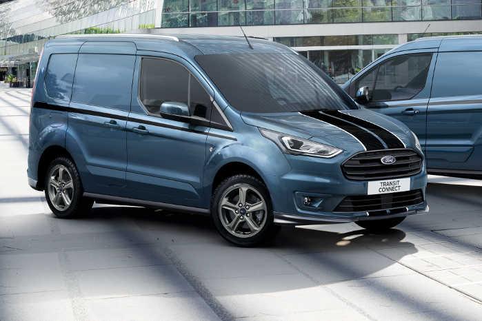 Den nye Ford Transit Connect Sport kommer til Danmark og kan bestilles fra november