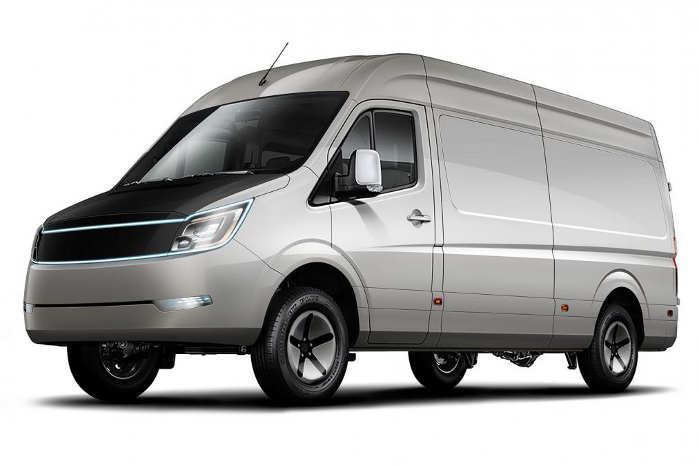 IONA Van er udviklet sammen med Daimler, og det ses. Foto: AVEVAI