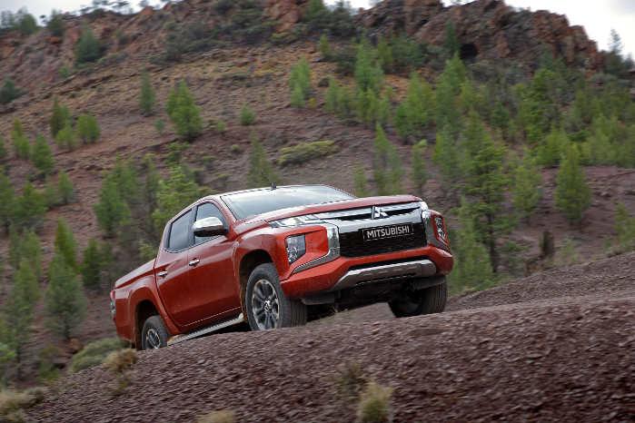Underlag som grus og klipper er kommet med som en indstilling i 4WD-systemet