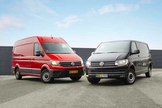 Juleudsalg på både de to største fra VW
