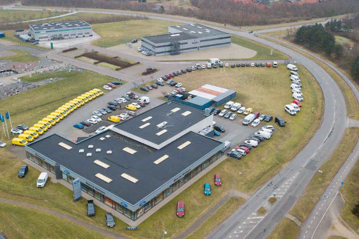 Bjarne Nielsen A/S er en af Danmarks største kæder af bilforretninger. Koncernen driver ti bilhuse på tværs af landet