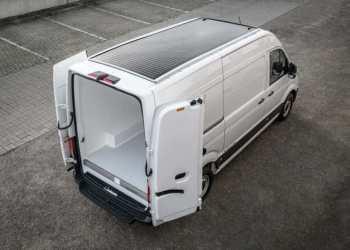 VW e-Crafter Solar leveres af den hollandske VW-importør i samarbejde med Carrosseriefabriek Harderwijk