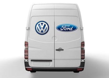 Ford og Volkswagen har indgået en alliance om at bygge varebiler sammen