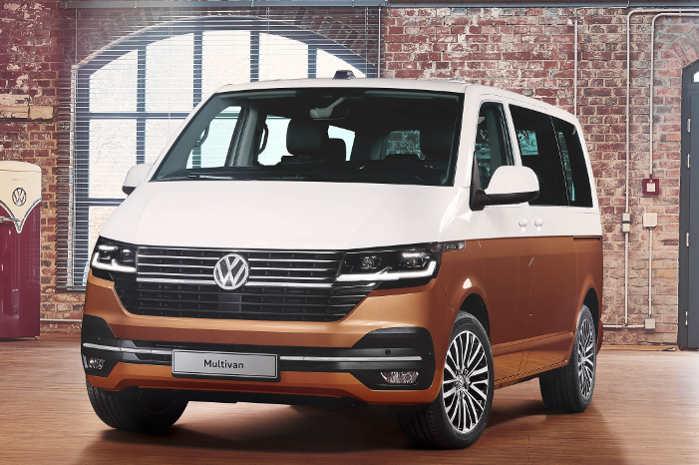 Volkswagen T6.1 er navnet på den faceliftede Transporter, Caravelle, Multivan og California. Foto: VW