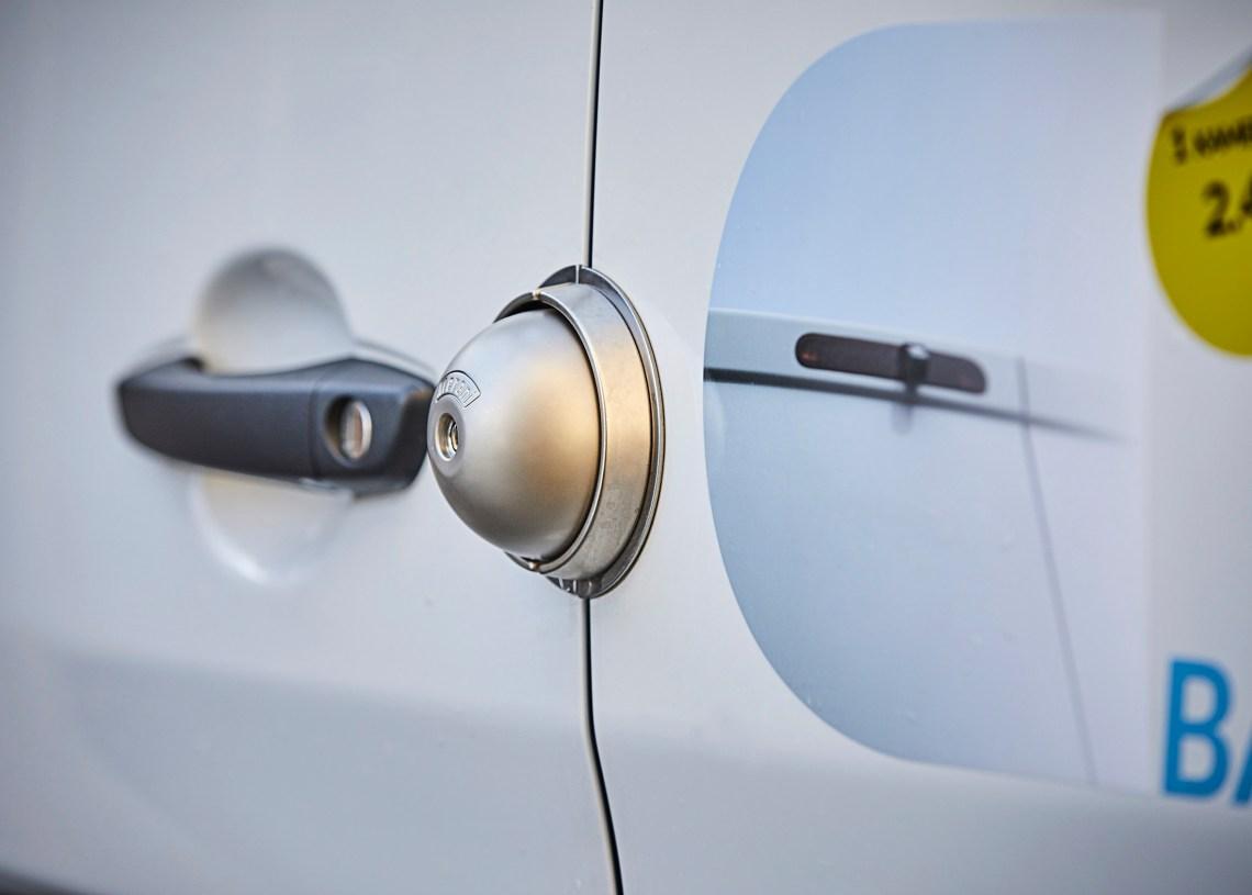 SmartVan leverer låse til varebiler