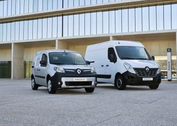 Renault Master ZE og Kangoo ZE