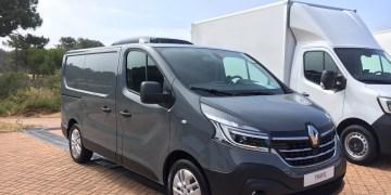 Renault Trafic med køl