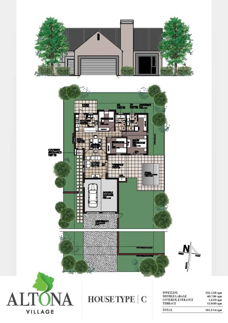 Altona _ House plan C