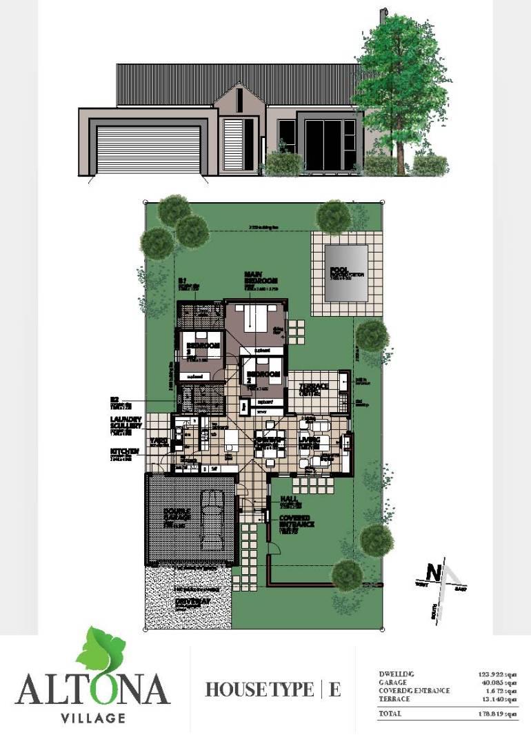 Altona _ House plan E