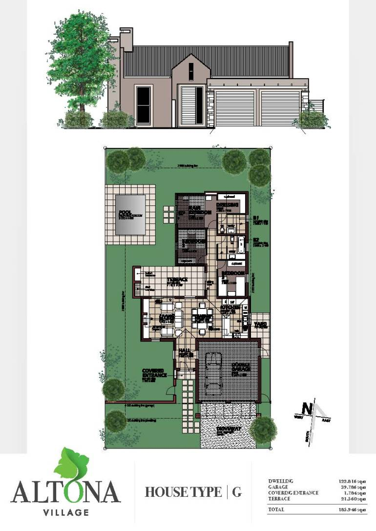 Altona _ House plan G