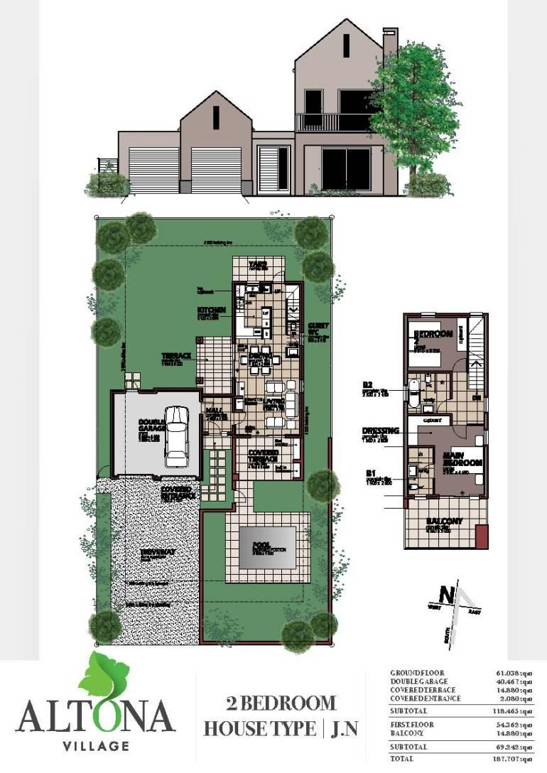 Altona _ House plan J.N