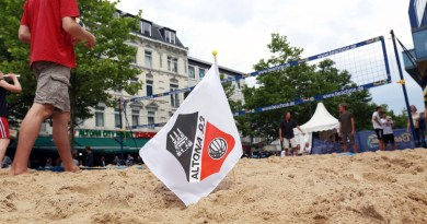 Beachvolleyball: Trainingszeiten im Stadtpark und beim SC Union