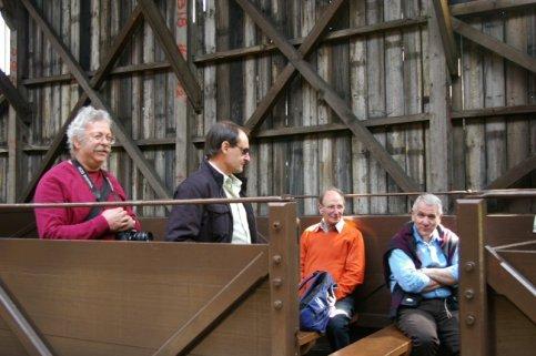 Members in a wagon